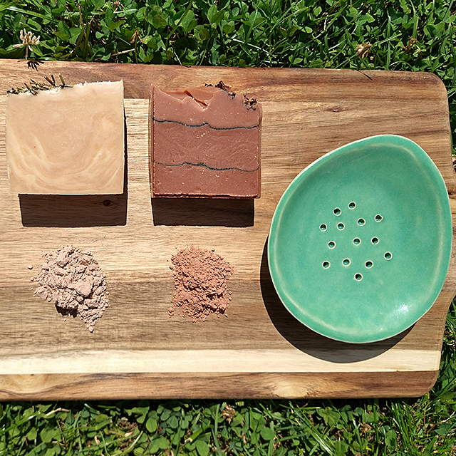 clay in cold process soap