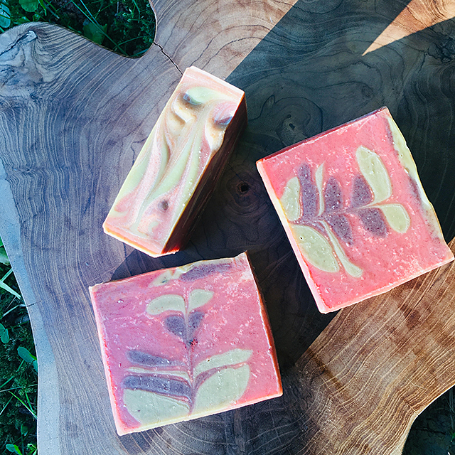 natural cold process soap