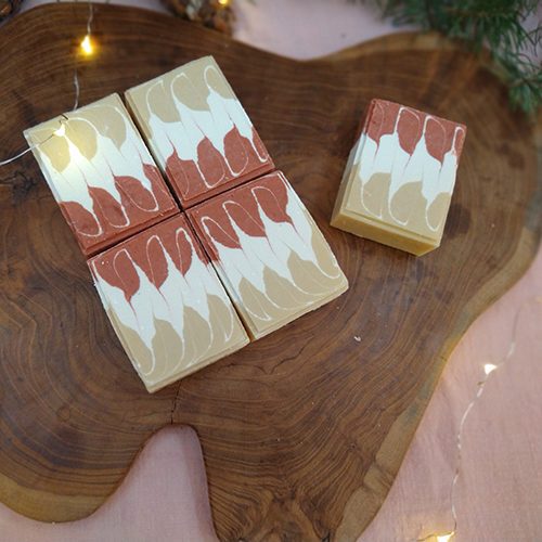 sparkling joy fire within natural soap le savon sauvage