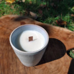 natural soy wax candle le savon sauvage